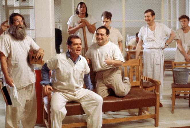 Image result for stills One Flew Over The Cuckoo's Nest (1975)