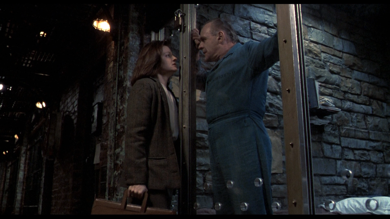 Really talented actors. Silence of the Lambs is a masterpiece created by them