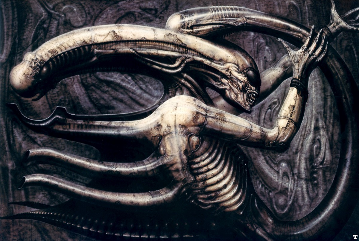 """The sexual organs alien substance insertion The Xenomorph and the Perversion of Sex in """"Alien"""""""