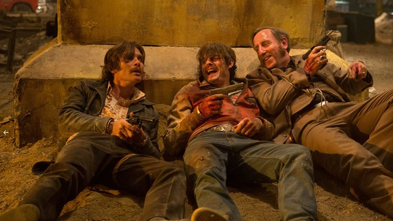 Free fire attempts farce ends up boring and haphazard for Farcical plot